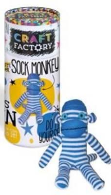 Craft Factory Sock Monkey by Parragon Books Ltd