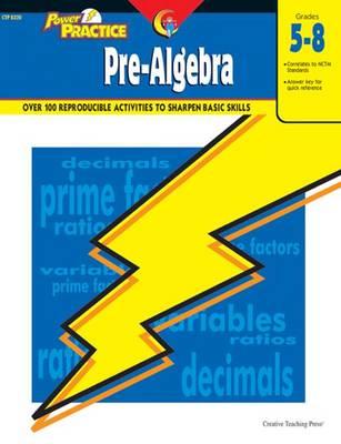 Pre-Algebra Power Practice Series by Wendy Osterman