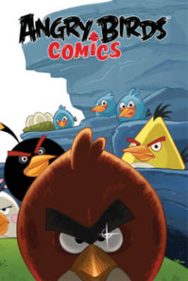 Angry Birds Comics Volume 1 Welcome To The Flock by Paul Tobin