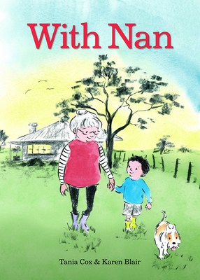 With Nan by Tania Cox