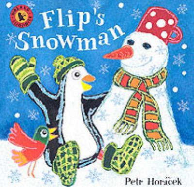 Flip's Snowman Board Book by Petr Horacek