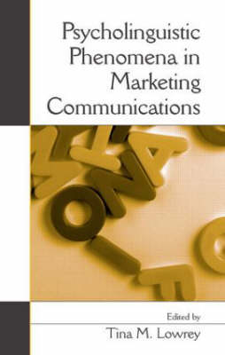 Psycholinguistic Phenomena in Marketing Communications book