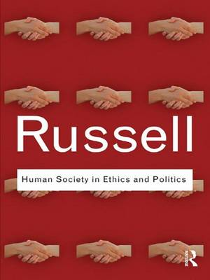 Human Society in Ethics and Politics book