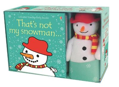 That's Not My Snowman Book and Toy by Fiona Watt