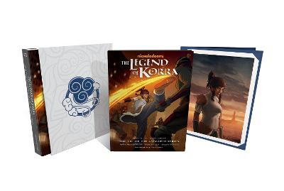 The Legend Of Korra: The Art Of The Animated Series--book One: Air Deluxe Edition (second Edition) by Michael Dante DiMartino