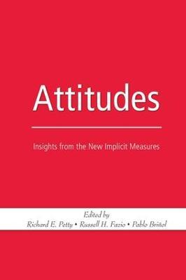Attitudes by Russell H. Fazio