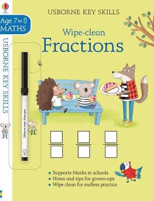 Wipe-Clean Fractions 7-8 book