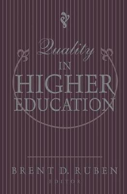 Quality in Higher Education book