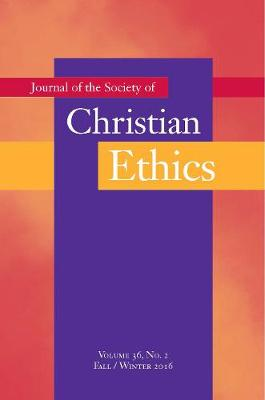 Journal of the Society of Christian Ethics book