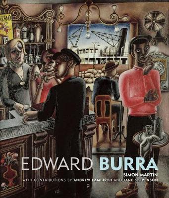 Edward Burra by Jane Stevenson