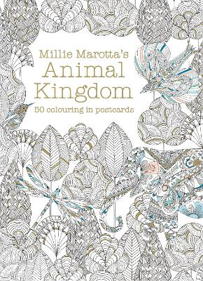 Millie Marotta's Animal Kingdom Postcard Box: 50 beautiful cards for colouring in by Millie Marotta