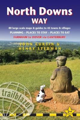 North Downs Way (Trailblazer British Walking Guides) by