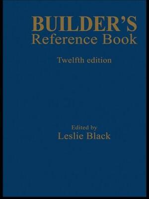 Builder's Reference Book by Leslie Black