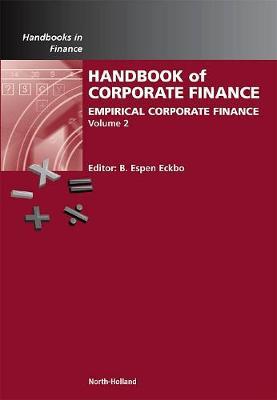 Handbook of Empirical Corporate Finance book
