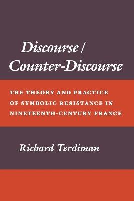 Discourse/Counter-Discourse by Richard Terdiman