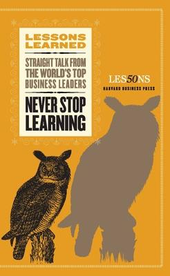 Never Stop Learning book
