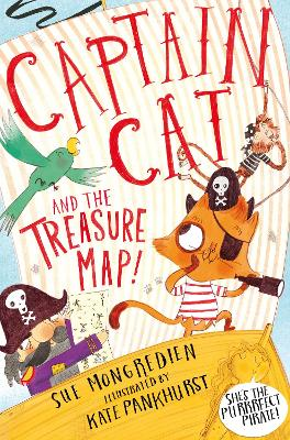Captain Cat and the Treasure Map by Sue Mongredien