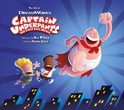 Art of Captain Underpants book