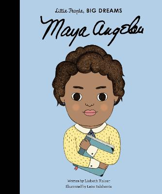 Maya Angelou by Leire Salaberria