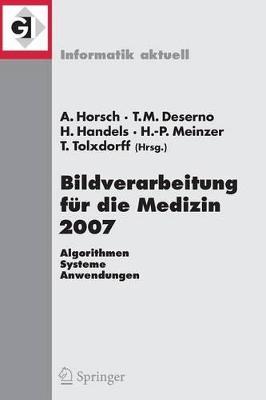 Bildverarbeitung fur Die Medizin by Alexander Horsch