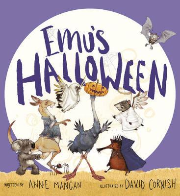 Emu's Halloween book