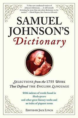 Samuel Johnson's Dictionary by Jack Lynch