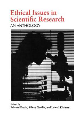 Ethical Issues in Scientific Research by Edward Erwin