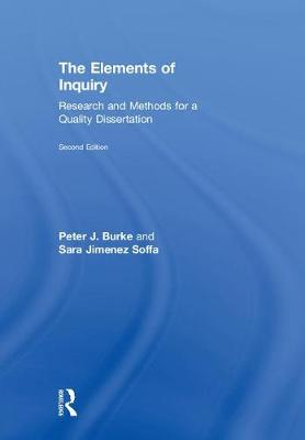 The Elements of Inquiry by Peter J. Burke