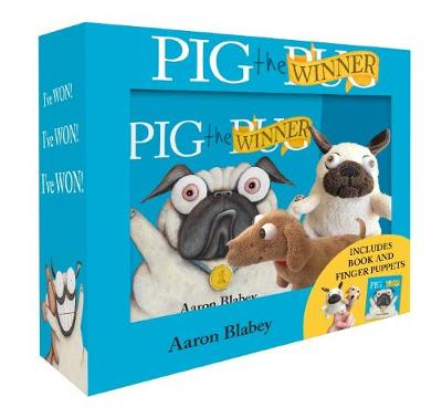 Pig the Winner + Finger Puppets by Aaron Blabey