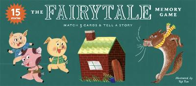 The Fairytale Memory Game: Match 3 cards & tell a story book