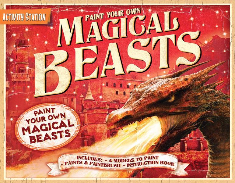 Paint Your Own Magical Beasts book