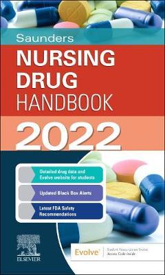 Saunders Nursing Drug Handbook 2022 book