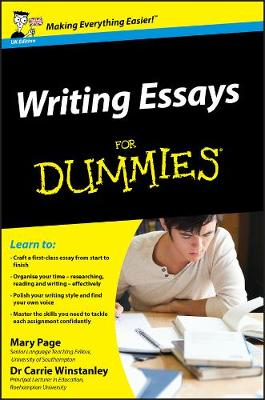 Writing Essays for Dummies book
