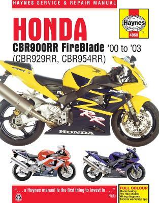 Honda CBR900RR Service and Repair Manual by Haynes Publishing