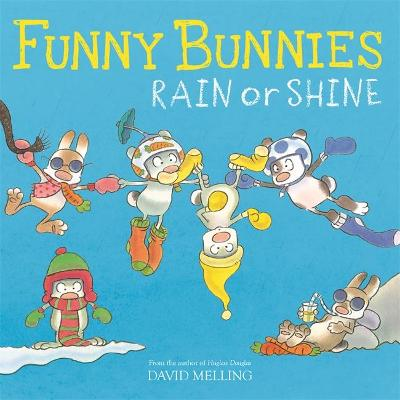 Funny Bunnies: Rain or Shine by David Melling