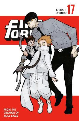 Fire Force 17 book