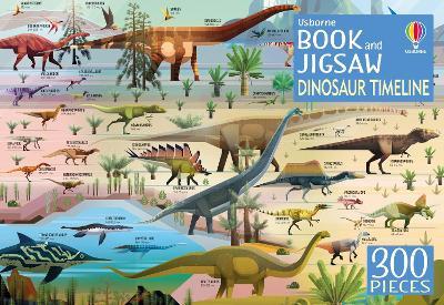 Dinosaur Timeline Book and Jigsaw by Rachel Firth