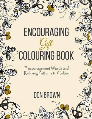 Encouraging Gift Colouring Book by Don Brown