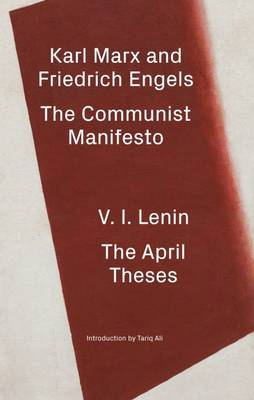 The Communist Manifesto/the April Theses by Karl Marx