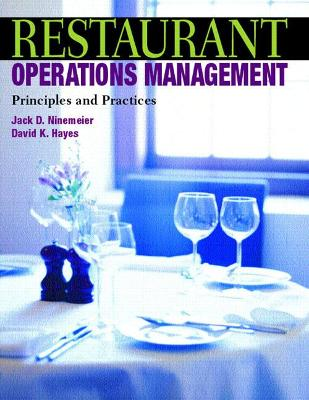 Restaurant Operations Management book