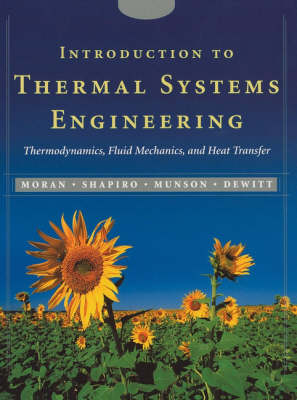 Introduction to Thermal Systems Engineering by Michael J. Moran