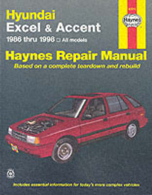 Hyundai Excel and Accent Automotive Repair Manual: 1986 to 1998 by Mike Stubblefield