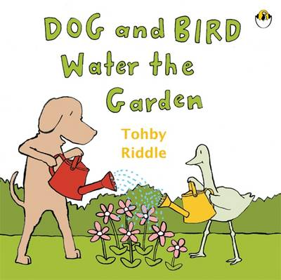 Dog & Bird Water The Garden by Tohby Riddle