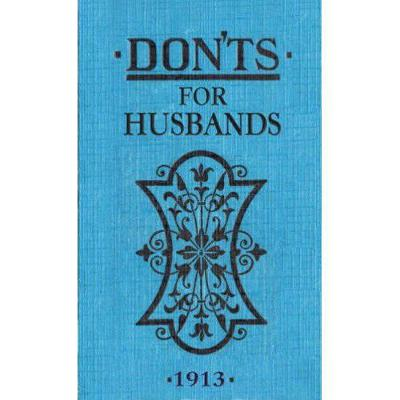 Don'ts for Husbands by Blanche Ebbutt