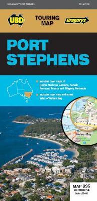Port Stephens Map 295 14th ed book