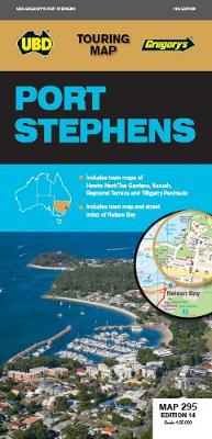 Port Stephens Map 295 14th ed by UBD Gregory's