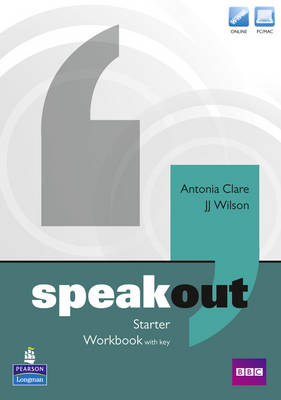 Speakout Starter Workbook with Key for pack by Frances Eales