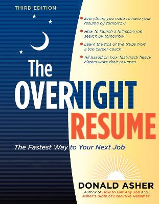 Overnight Resume by Donald Asher