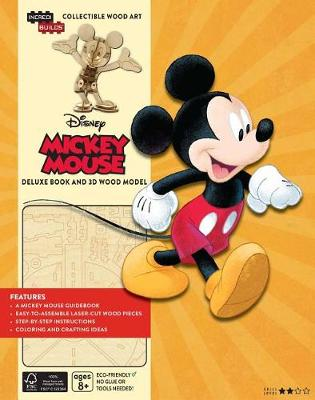 Incredibuilds: Walt Disney: Mickey Mouse Deluxe Book by Greenberg