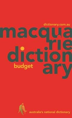 Macquarie Budget Dictionary book